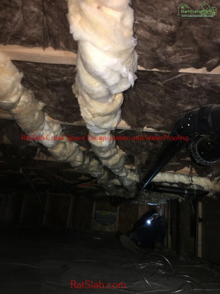 Crawl Space Encapsulation And Waterproofing Boney Lake WA