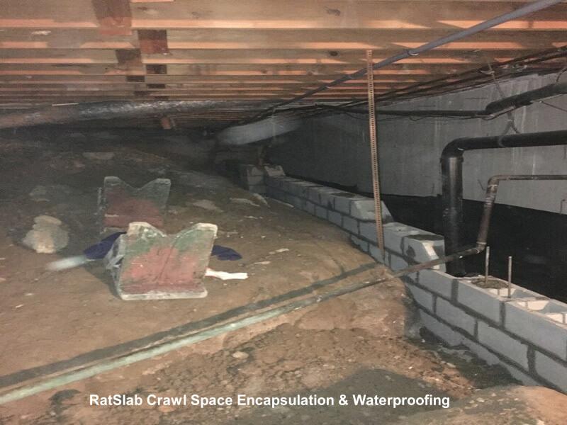crawl space foundation repair