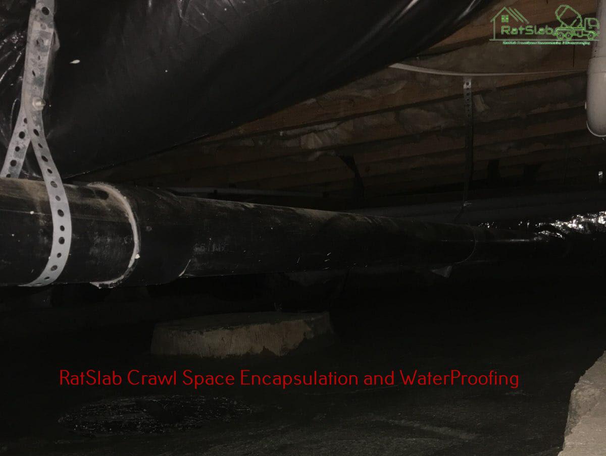 Crawl Space Concrete
