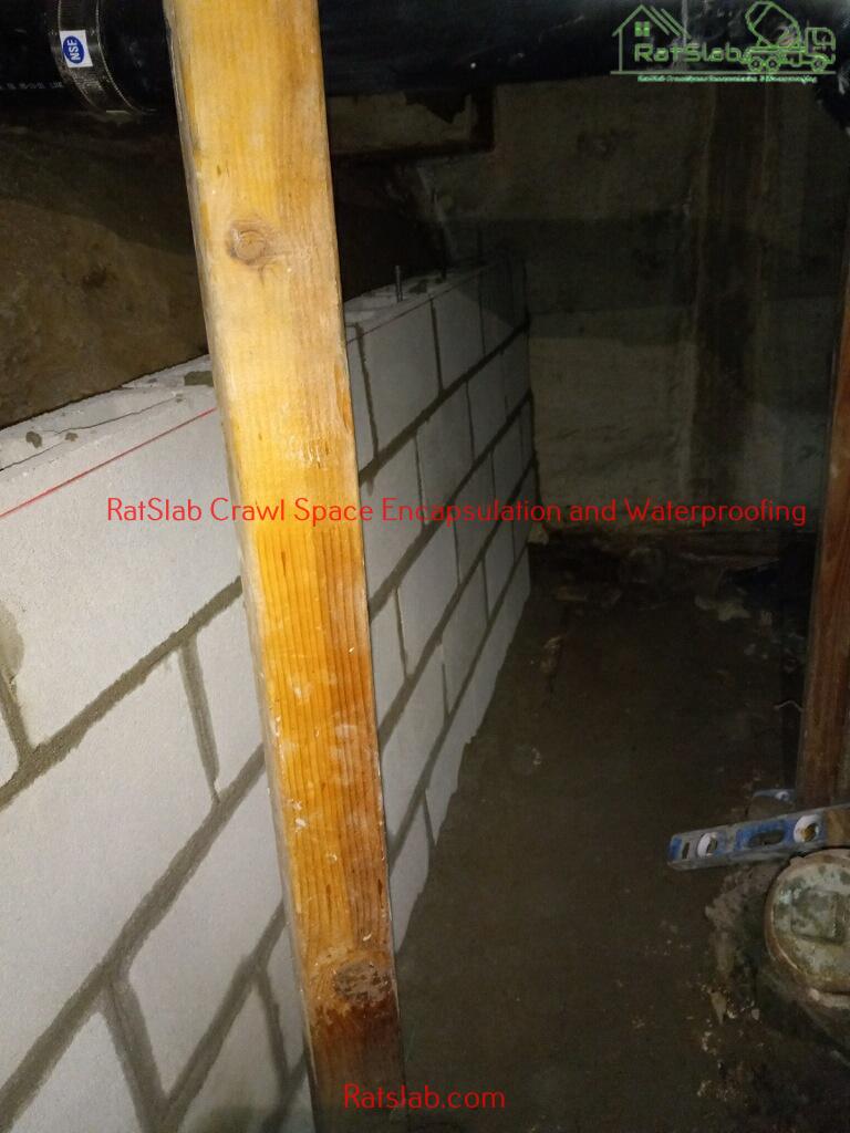 Crawl Space Encapsulation And Waterproofing Tacoma WA